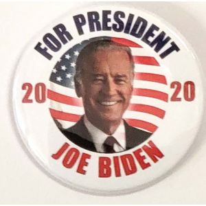 Joe Biden Patriotic Campaign Button