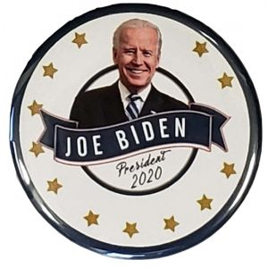 Joe Biden President 2020 Gold Star Buttons