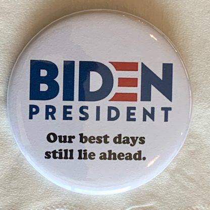 Our best days still lie ahead.