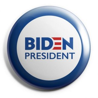 Biden 2020 Red, White & Blue Campaign Button (BIDEN-605)