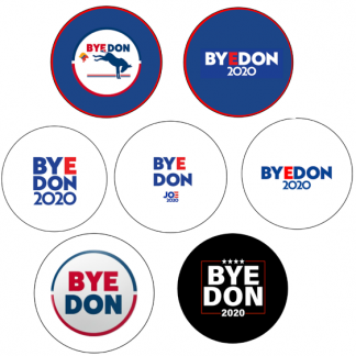BYE DON 2020__set of 7