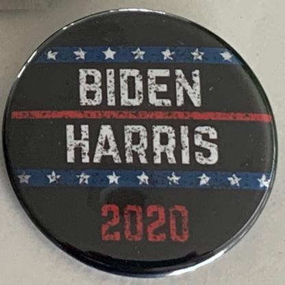 Biden Harris - vintage button