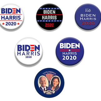 Biden / Harris set of 6 buttons