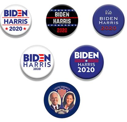 Biden / Harris set of 6 buttons